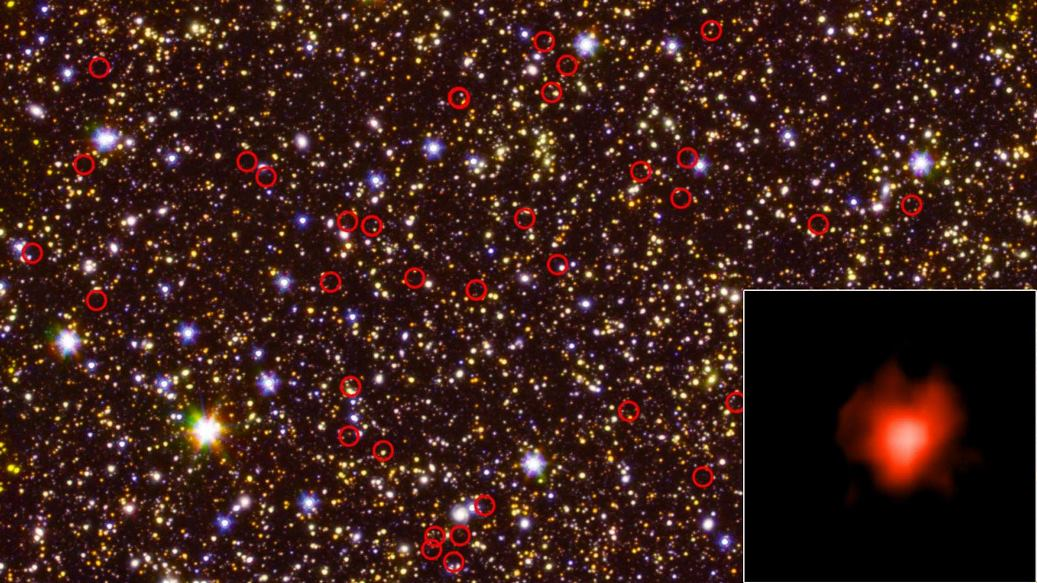 image e Universes Early Galaxies