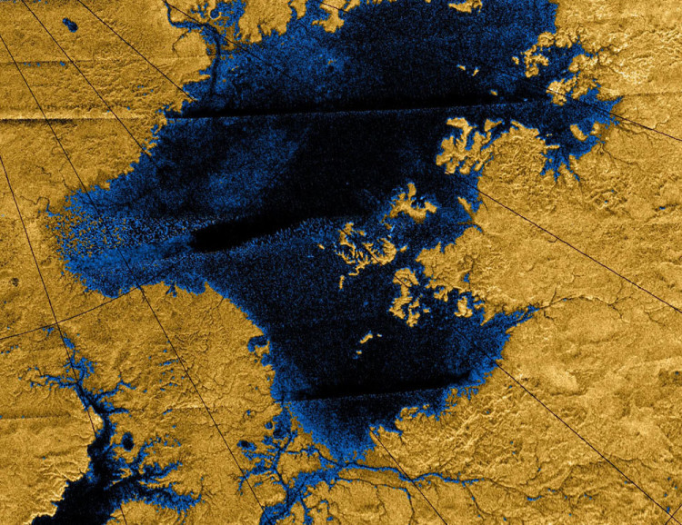 titan methane river networks map x