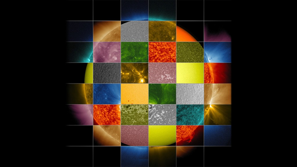 Sonne Wellenlängen x