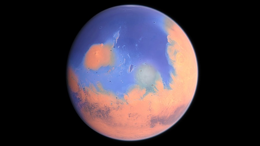 was mars once a blue planet