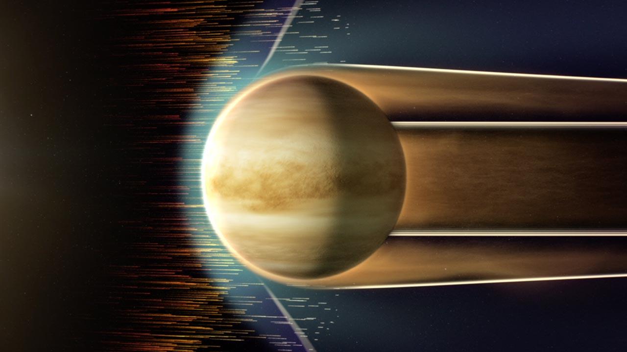 venus ion holes