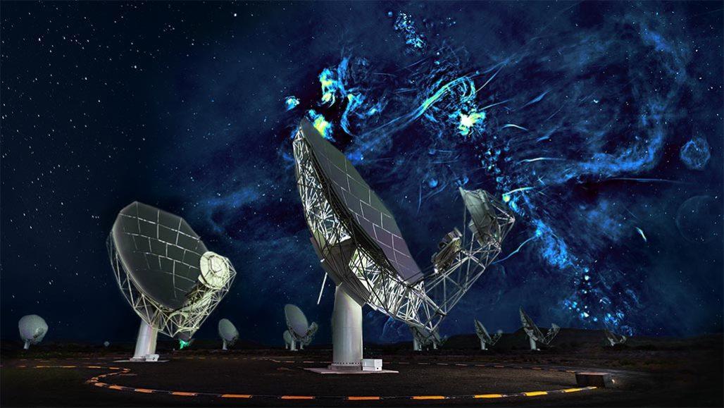 اخترشناسان حبابهای رادیویی عظیمی کشف کردند