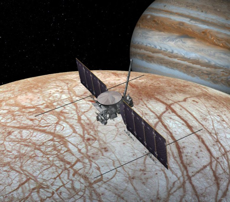 Europa Clipper Spacecraft x