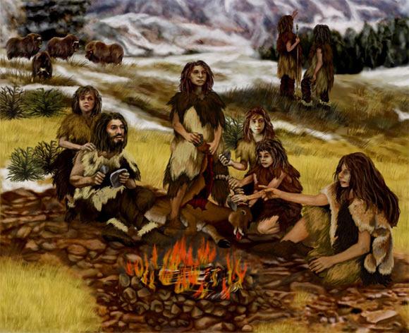 انسانهای نخستین غذاهای نشاستهدار میخوردند