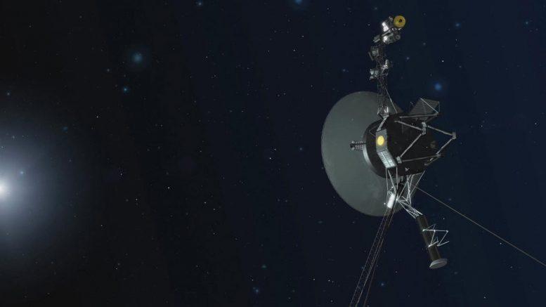 NASA Voyager Spacecraft Entering Interstellar Space x