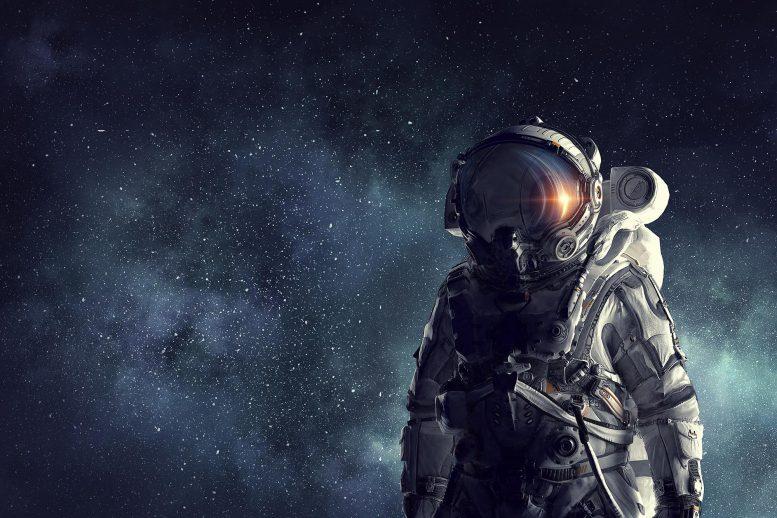 Astronaut Explorer In Space x