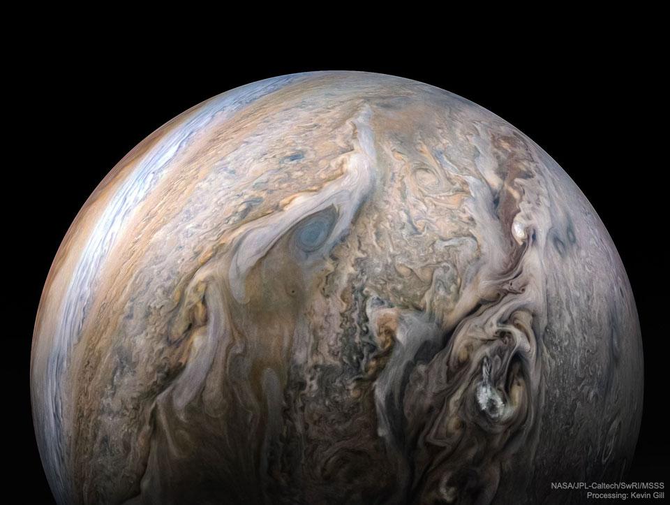 JupiterClouds JunoGill