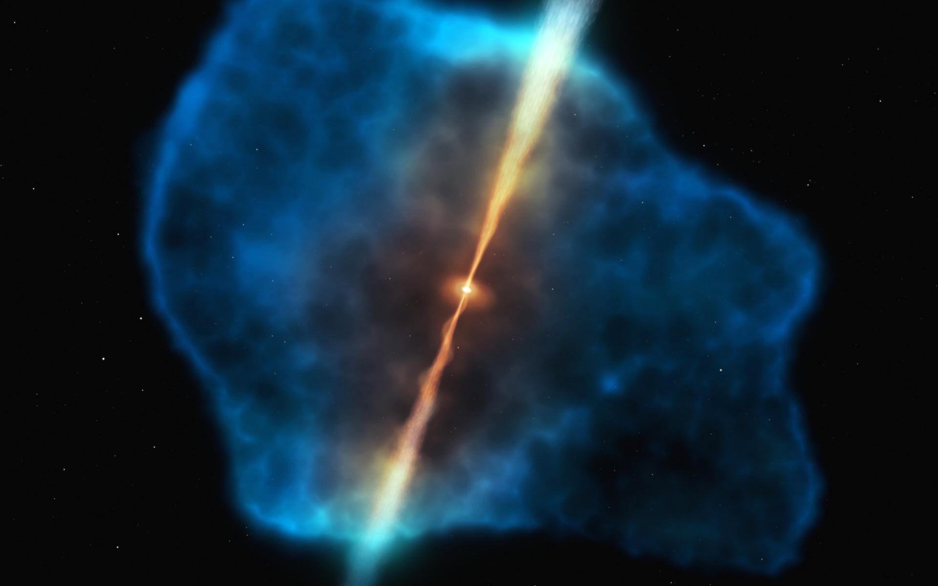 image e Quasar Halo