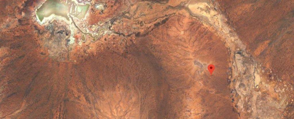 yarrabubba crater coordinates google maps
