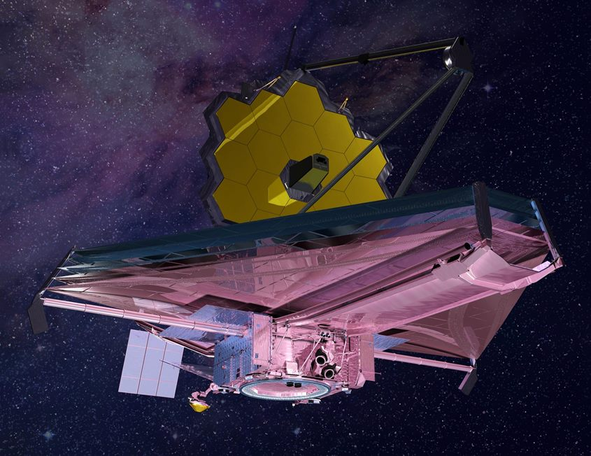 James Webb Space Telescope Artist Conception scaled
