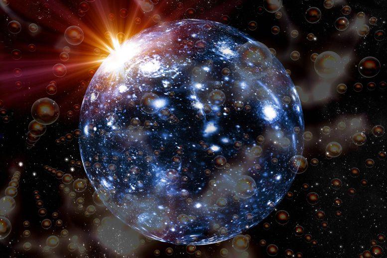 Primordial Universe Artist Concept x