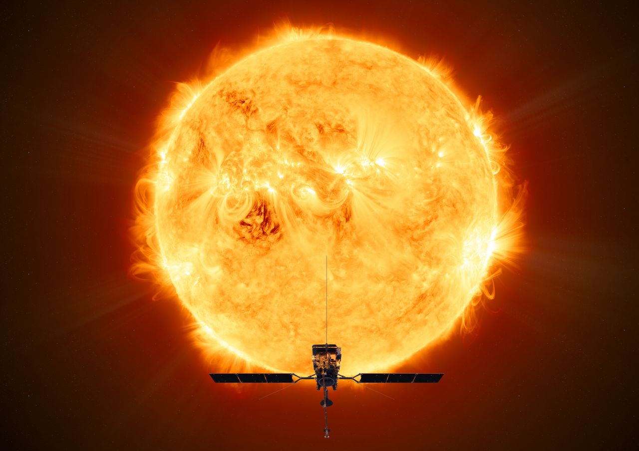 solar orbiter artist impression