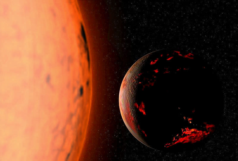 Red Giant Earth warm