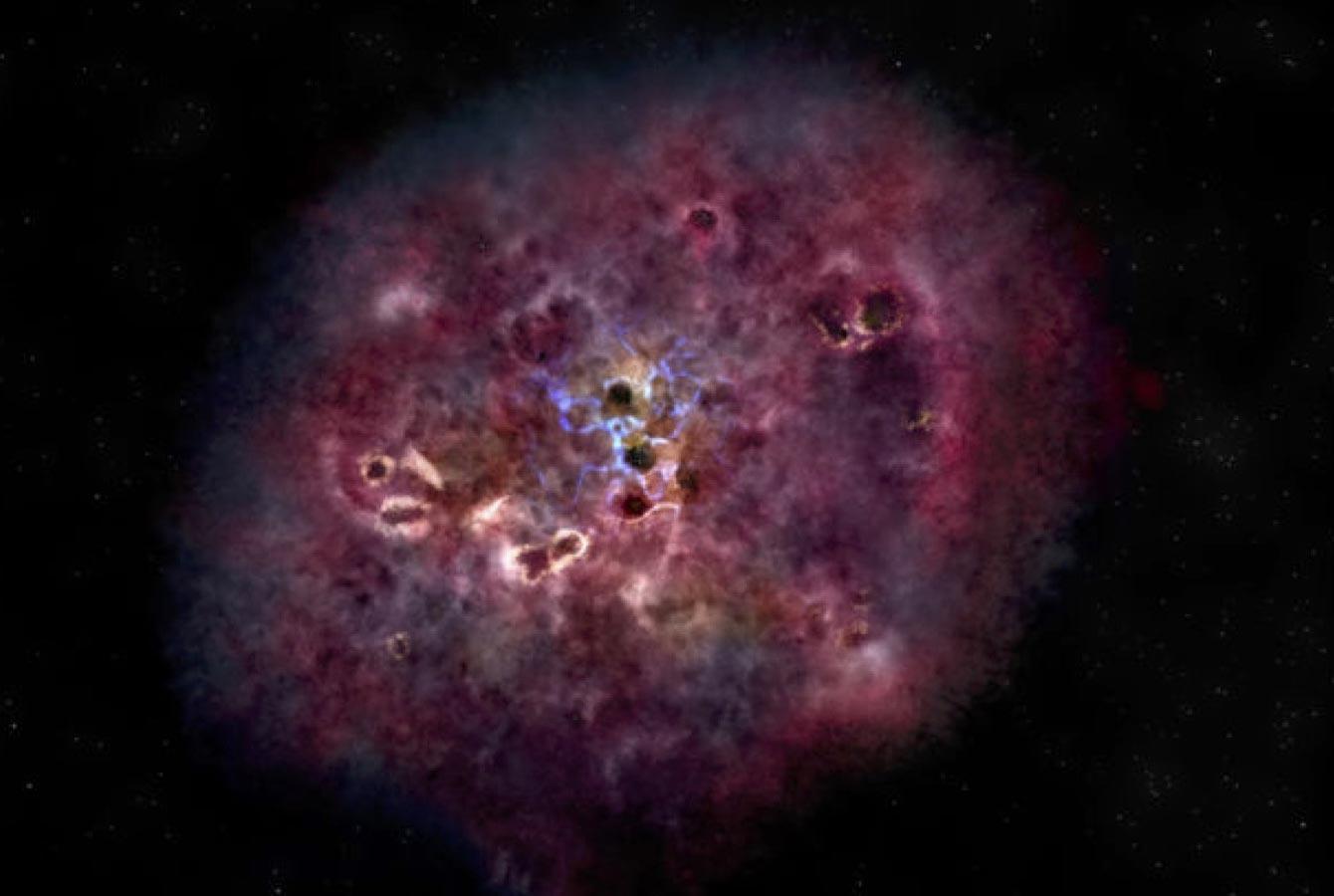 Massive Galaxy XMM