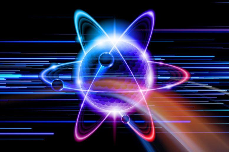 Photon Electron Illustration x