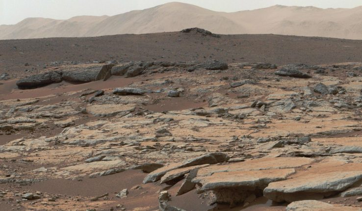 NASA Curiosity Mars Sedimentary Deposits Glenelg Gale Crater x