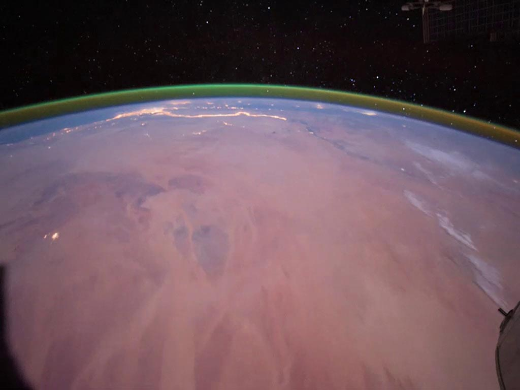 Airglow Observed From the International Space Station
