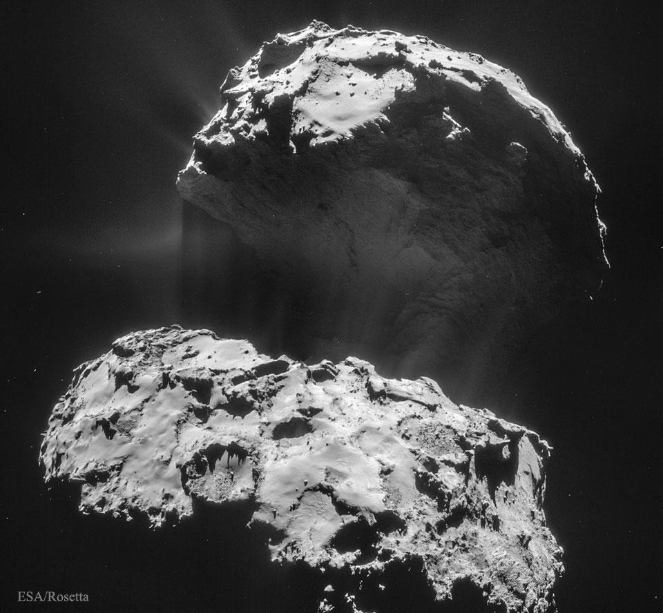 CometP Rosetta