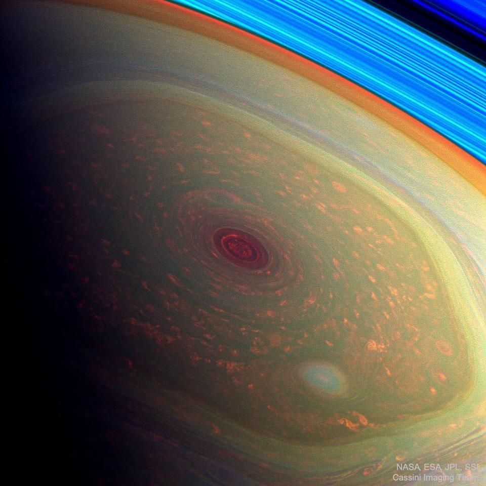 NorthSaturn Cassini