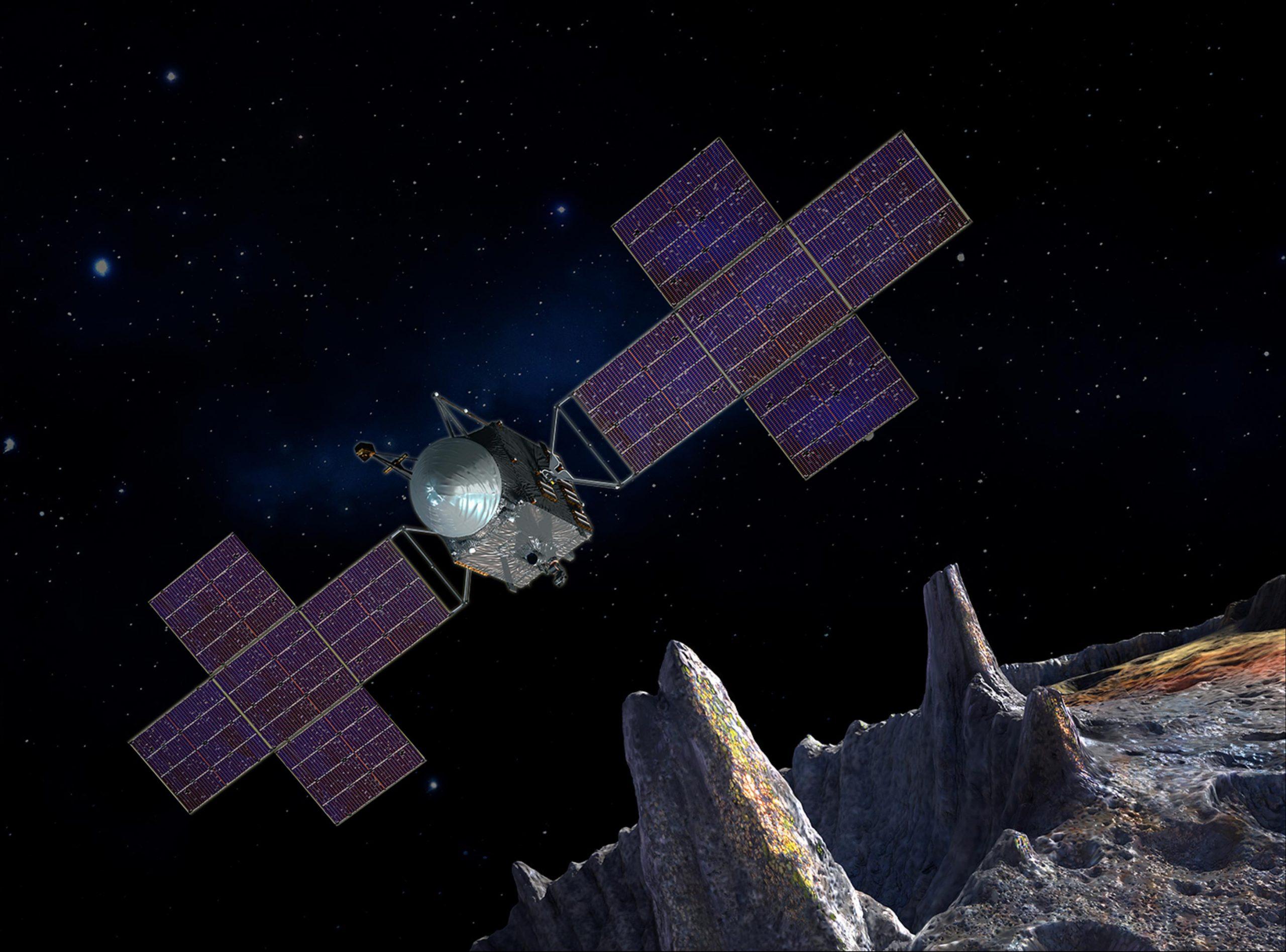 NASA Psyche Mission scaled