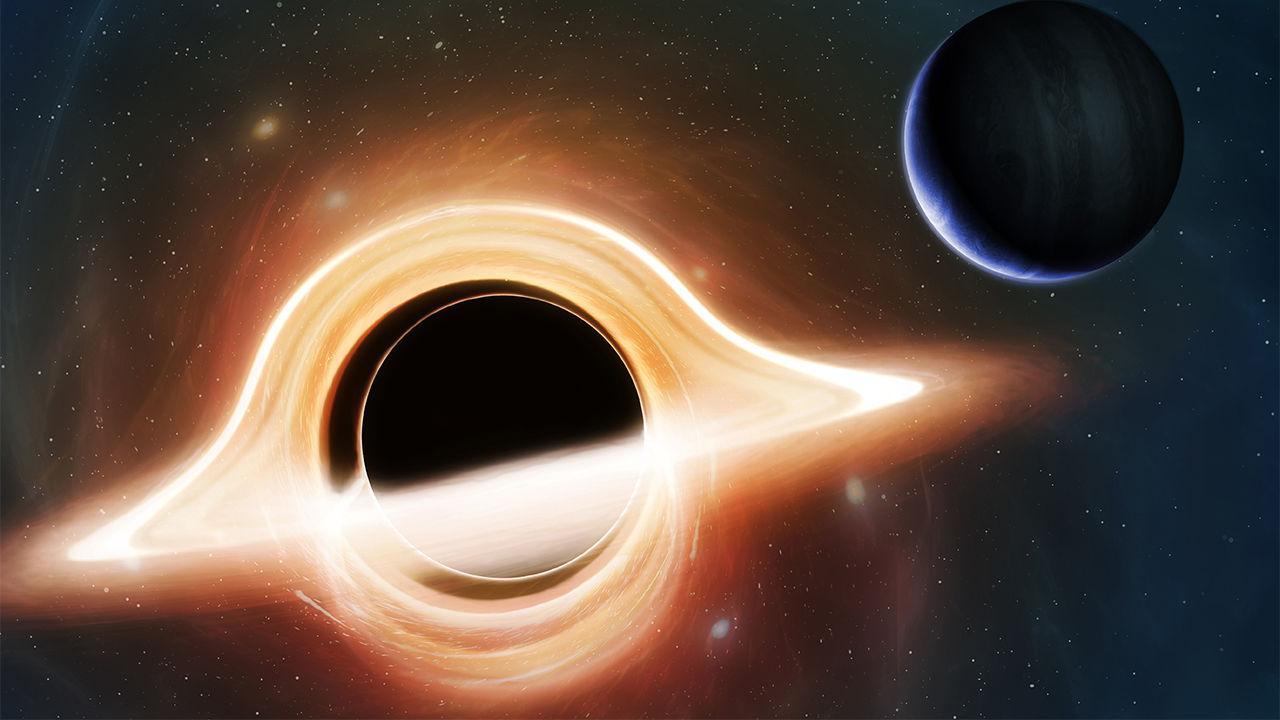 Supermassive blackhole planet