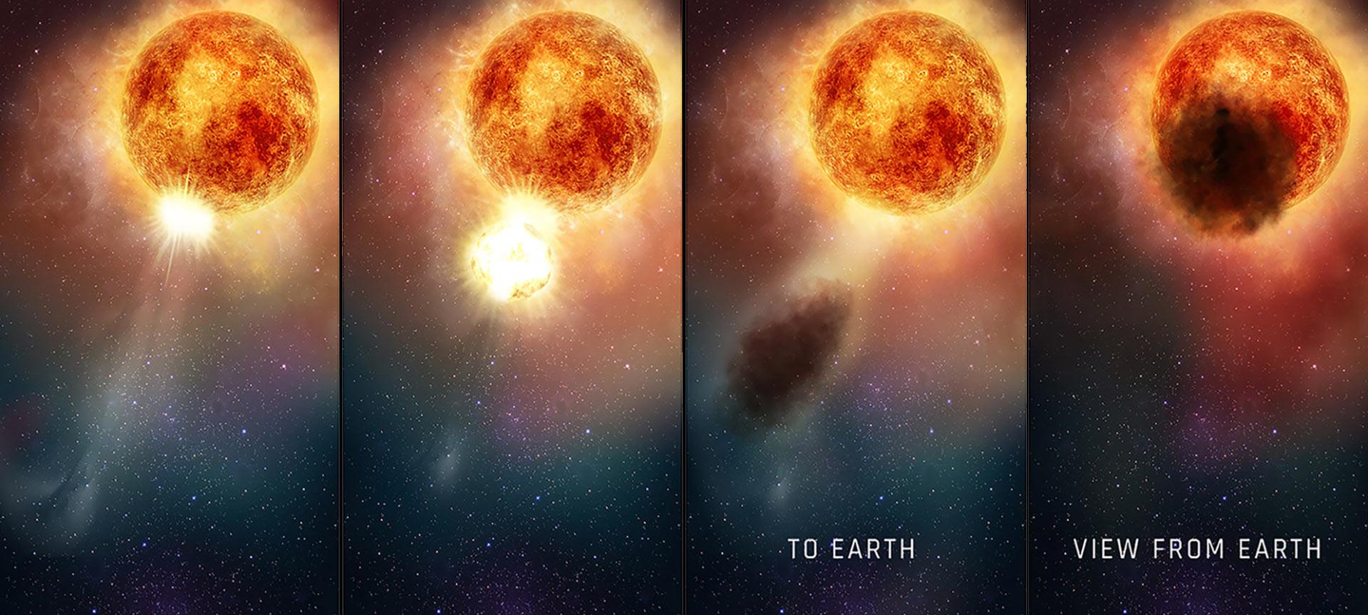 image e Betelgeuse