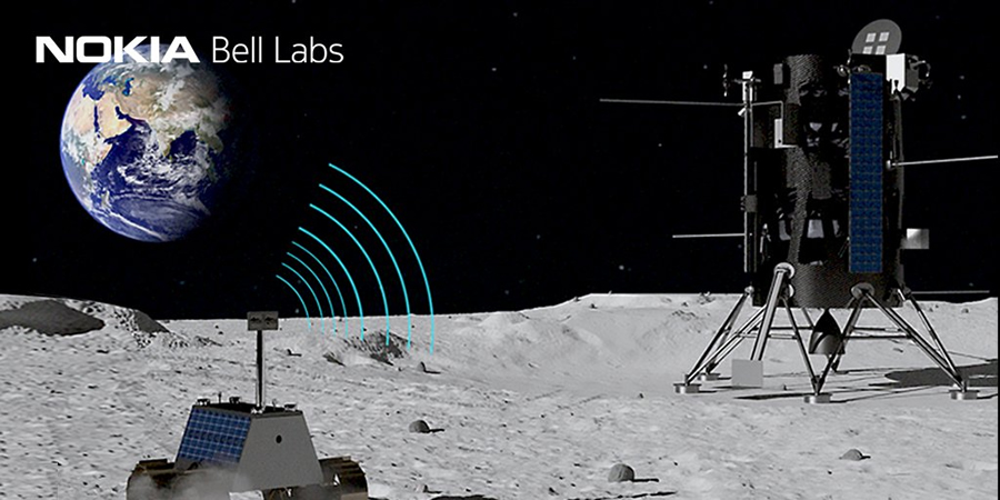 Nokia set to build first ever cellular network on the Moon article