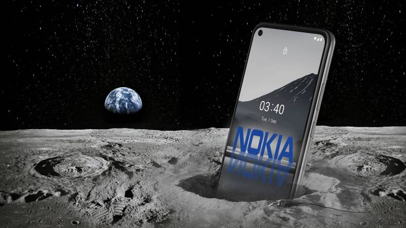 nokia and nasa to install g on the moon