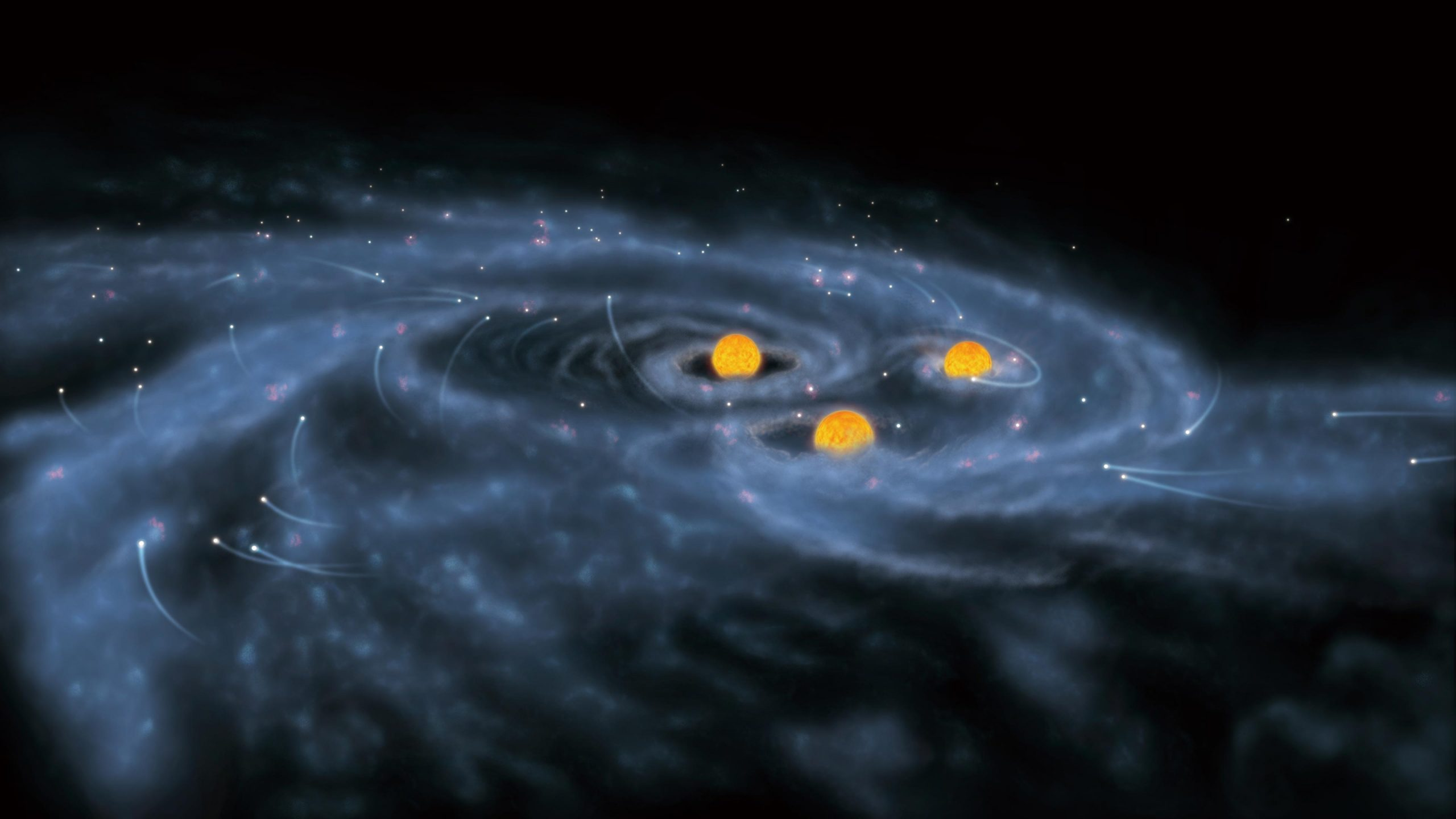 Formation of Supermassive Stars scaled