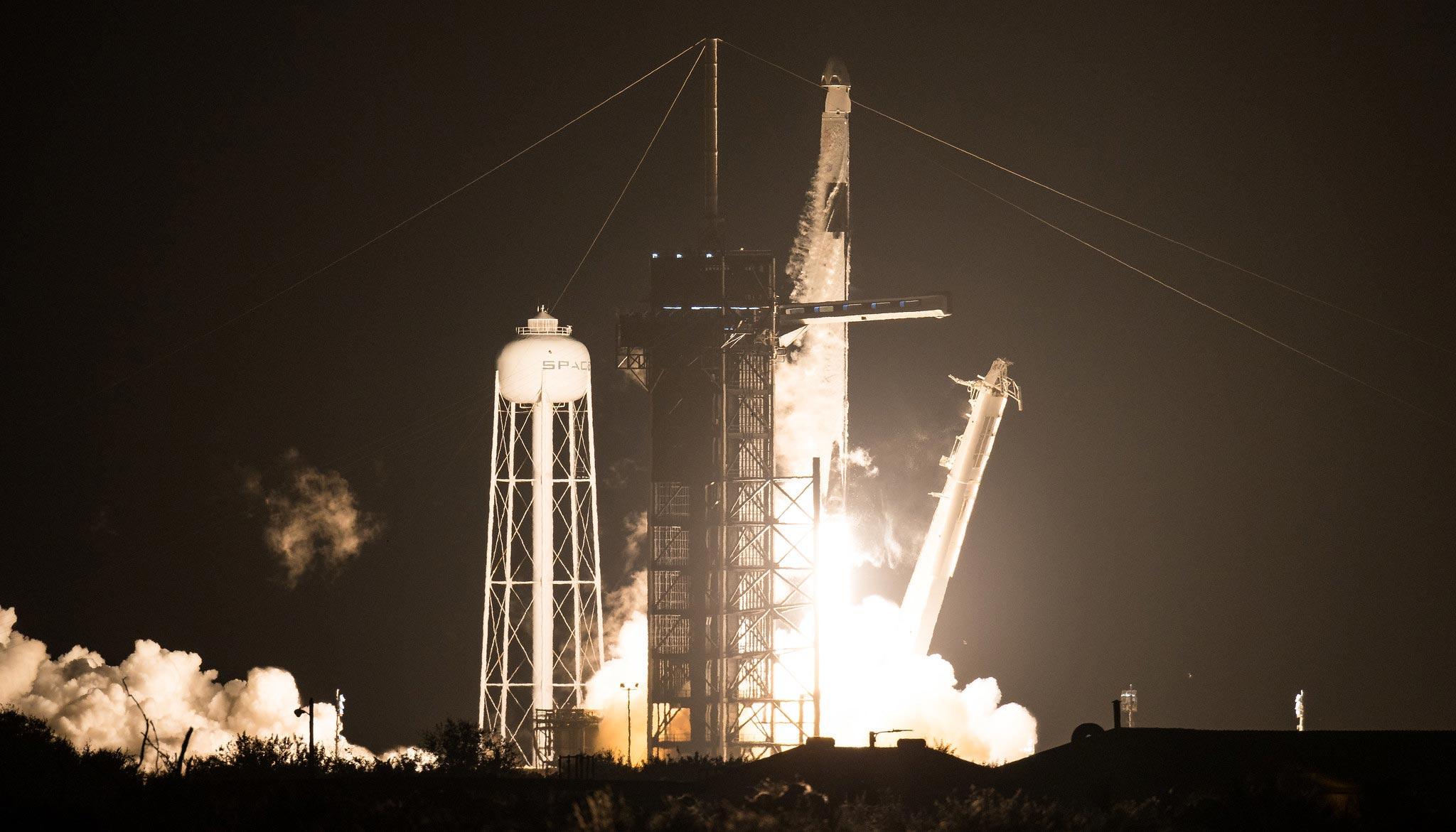 NASA SpaceX Crew Launch
