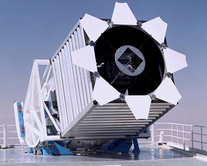 SDSS Telescope scaled