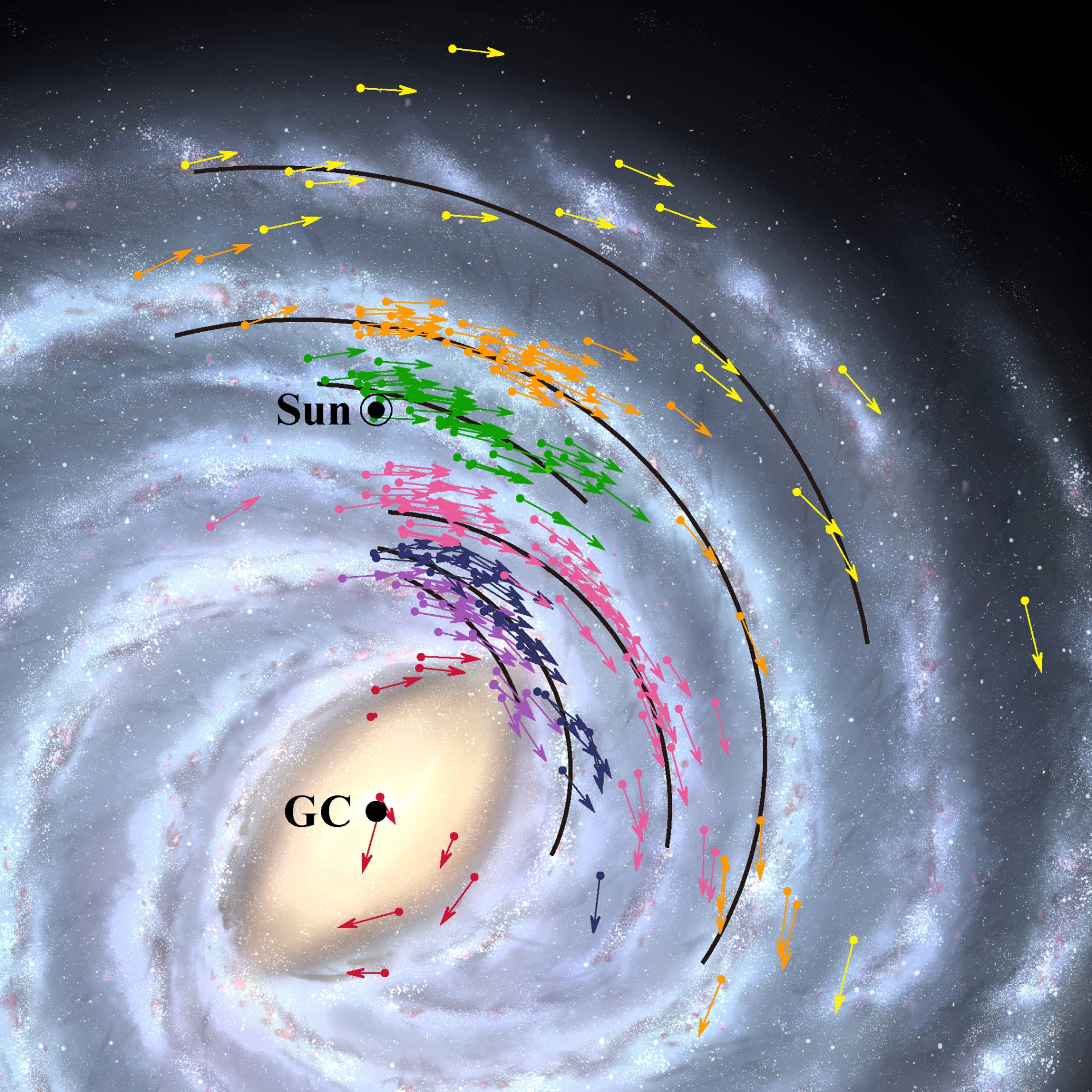 image e Milky Way Map