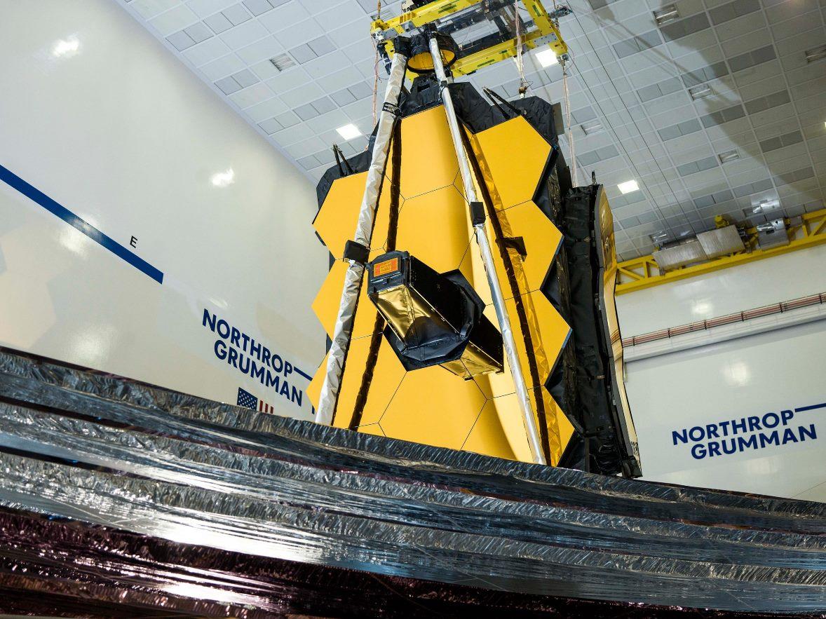 James Webb Space Telescope Sunshield Fully Deployed scaled