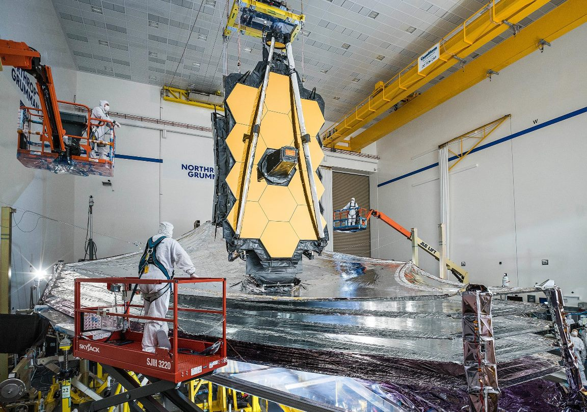 James Webb Space Telescopes Final Tests scaled