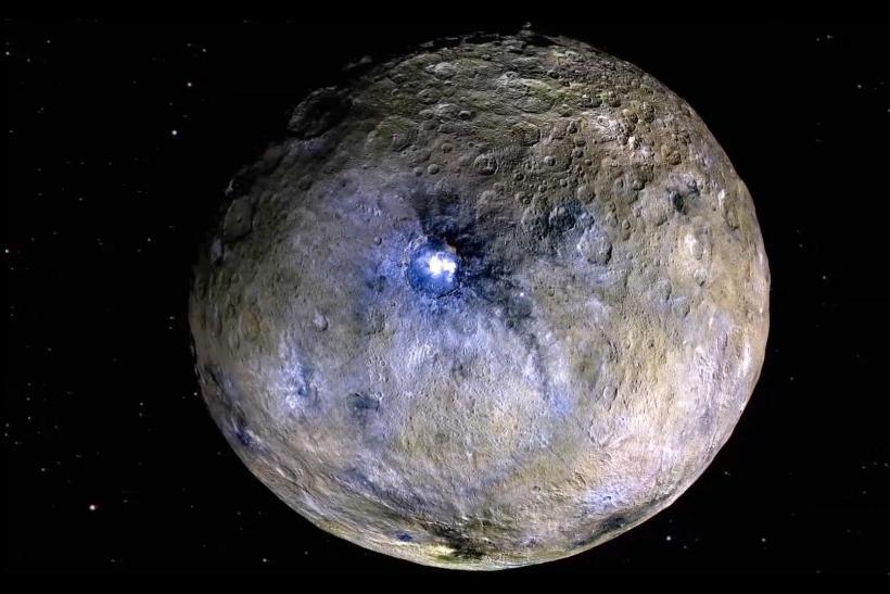 ceres occator crater