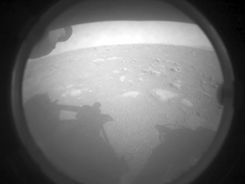 Mars Perseverance FLR