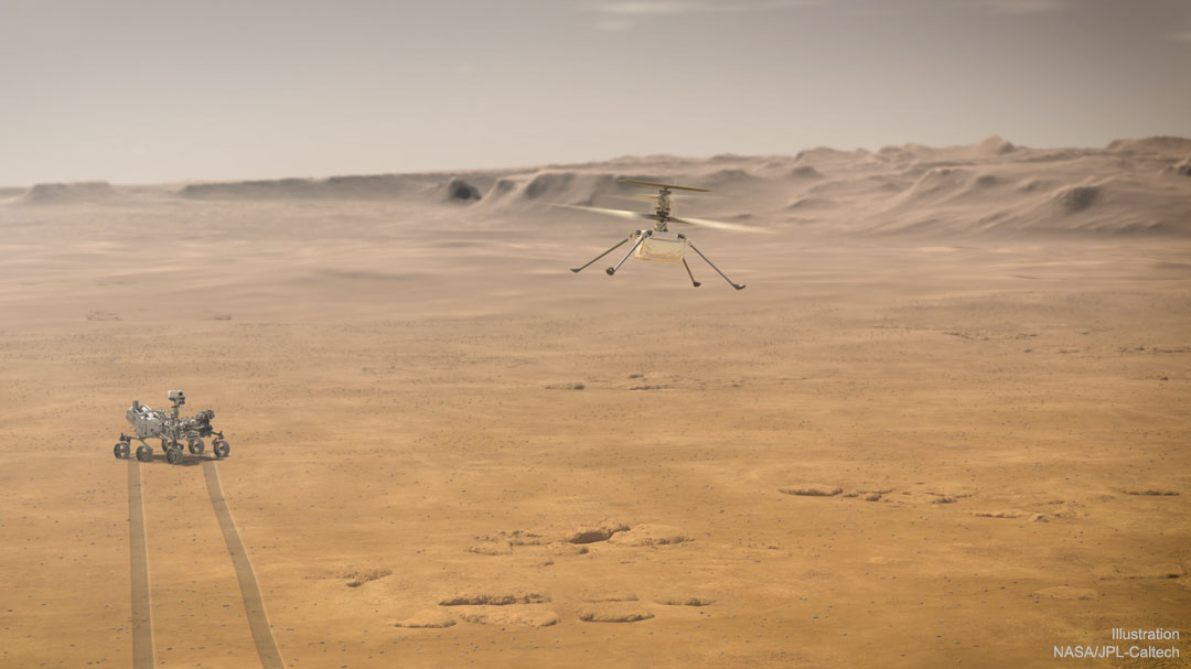 Helicopter Mars