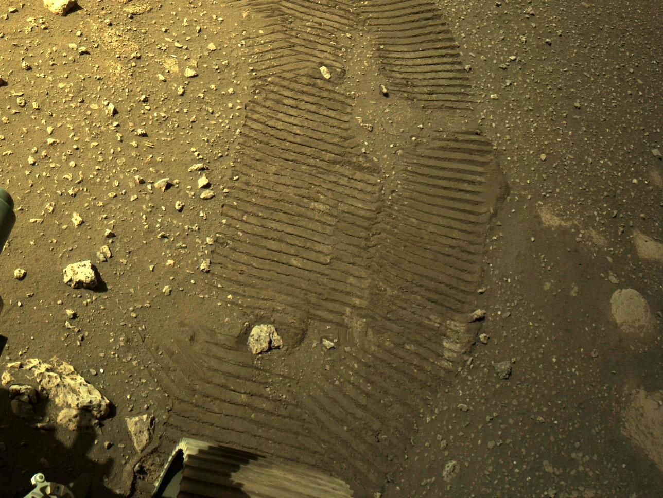 Mars Perseverance NRF ECM NNCAM J