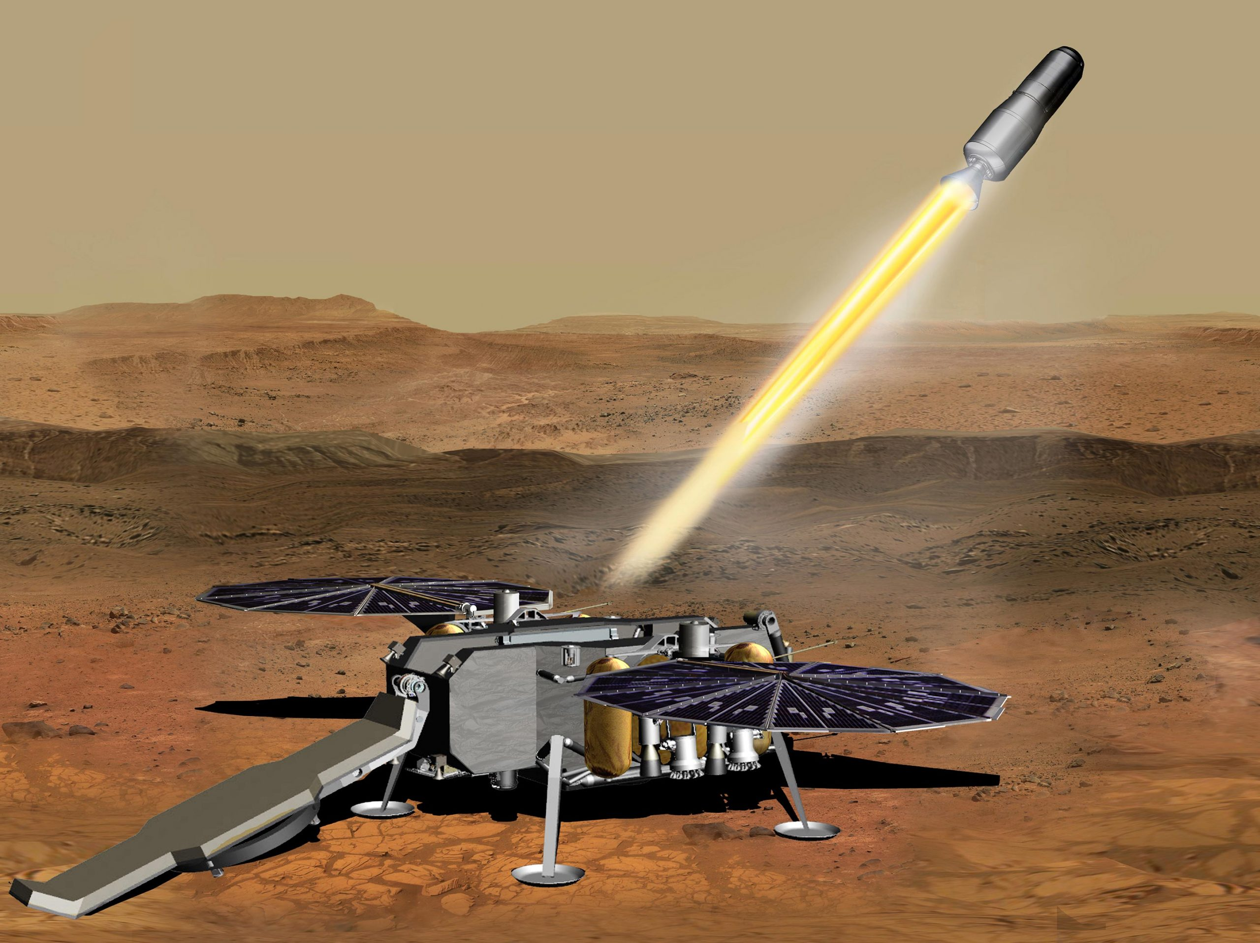 NASA Mars Ascent Vehicle scaled