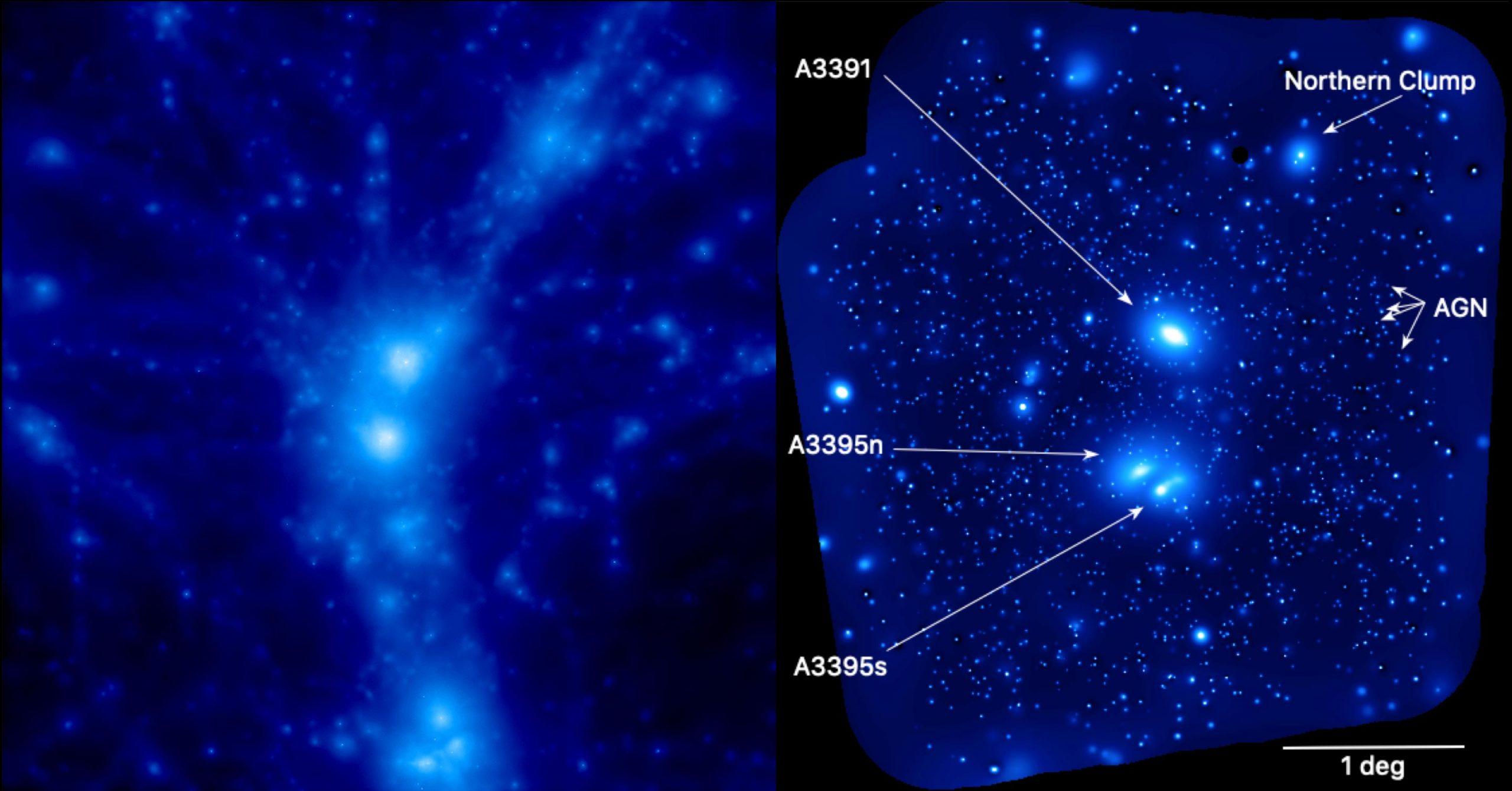 Abell System eROSITA X ray Image scaled
