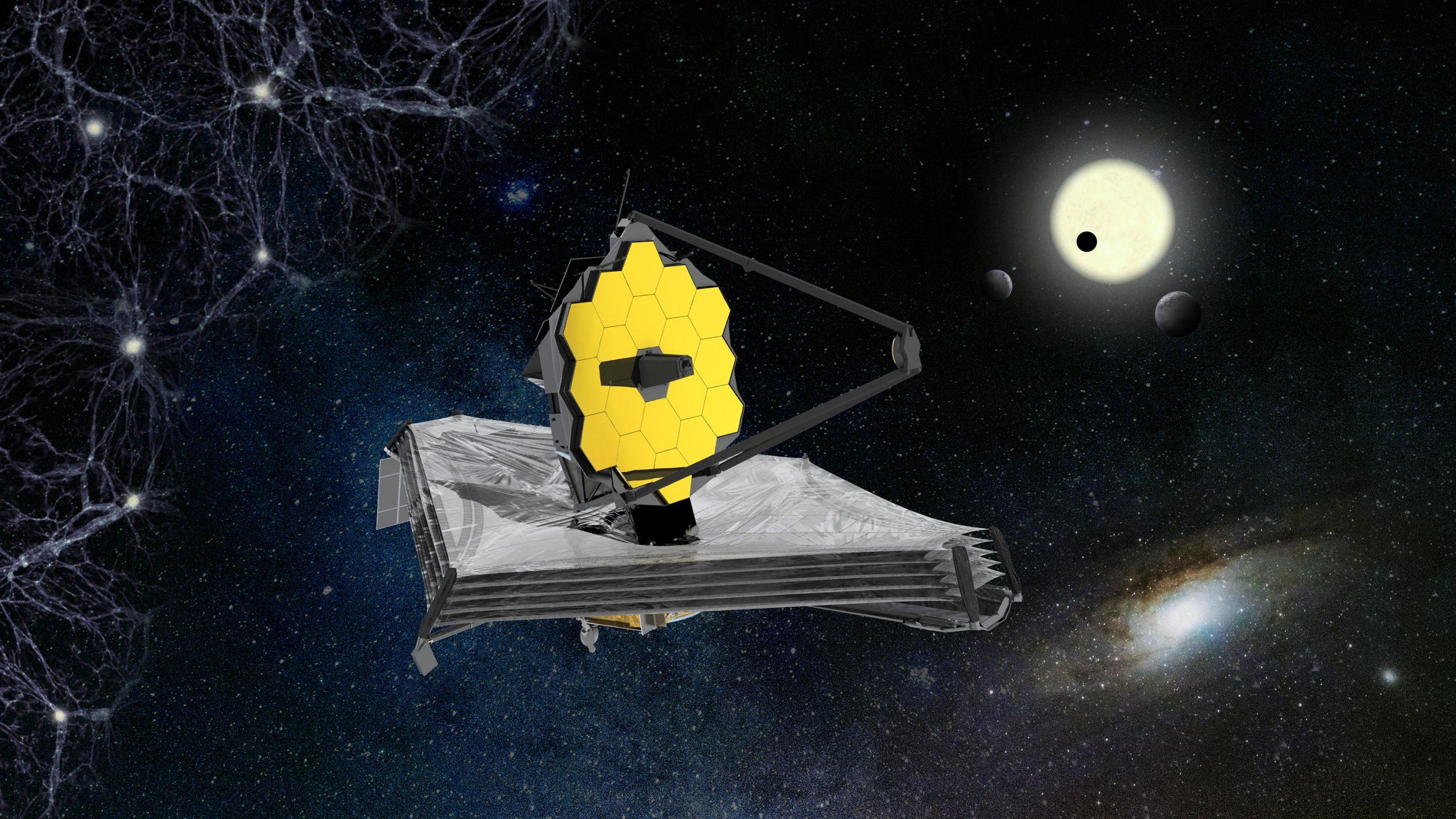 James Webb Space Telescope Artists Impression scaled