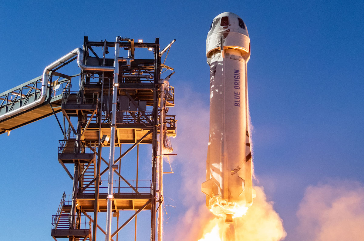 Blue Origins Jeff Bezos launch on New Shepard Live updates