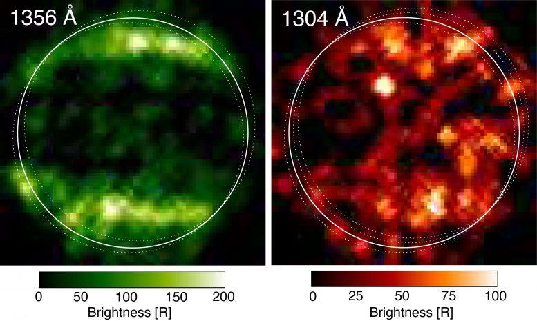 Hubbles Ultraviolet Observations of Ganymede in x