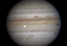 Amateur Spots Possible New Impact Flash at Jupiter Sky x