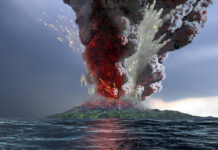 krakatau volcano explosion artwork take ltd
