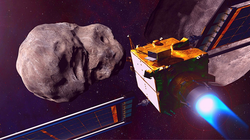 nasa wants to intentionally smash a spacecraft into an asteroid md