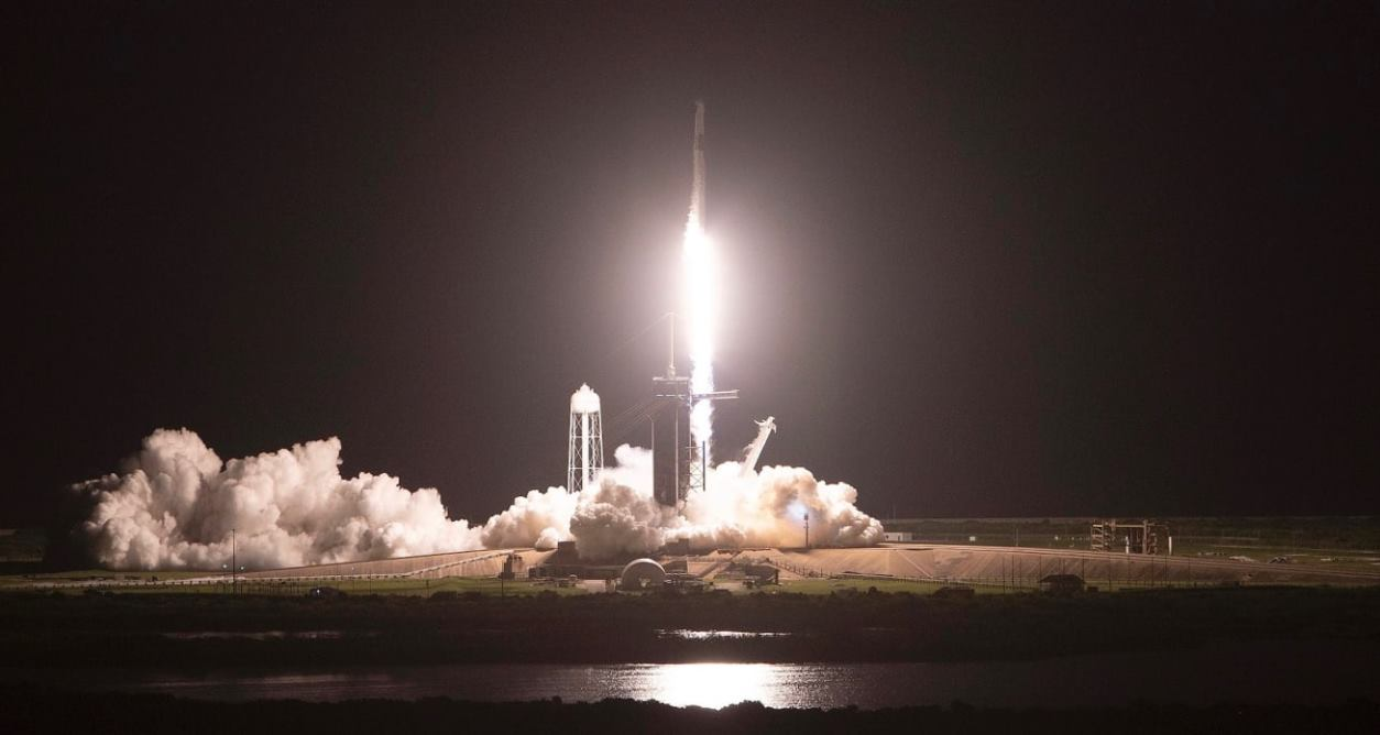 spacex launches first all civilian spacecraft into orbit